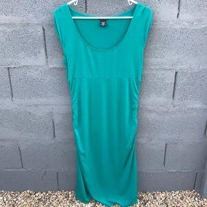 Moda International Green/Teal Dress Size medium